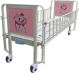 lit de réanimation pédiatrique