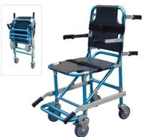 Brancard – chaise d'escalier pliable